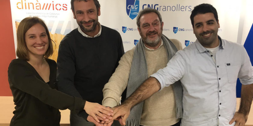 Dinàmics signa un acord de col·laboració amb el CNG per formar socorristes i professionals de l'esport a Granollers