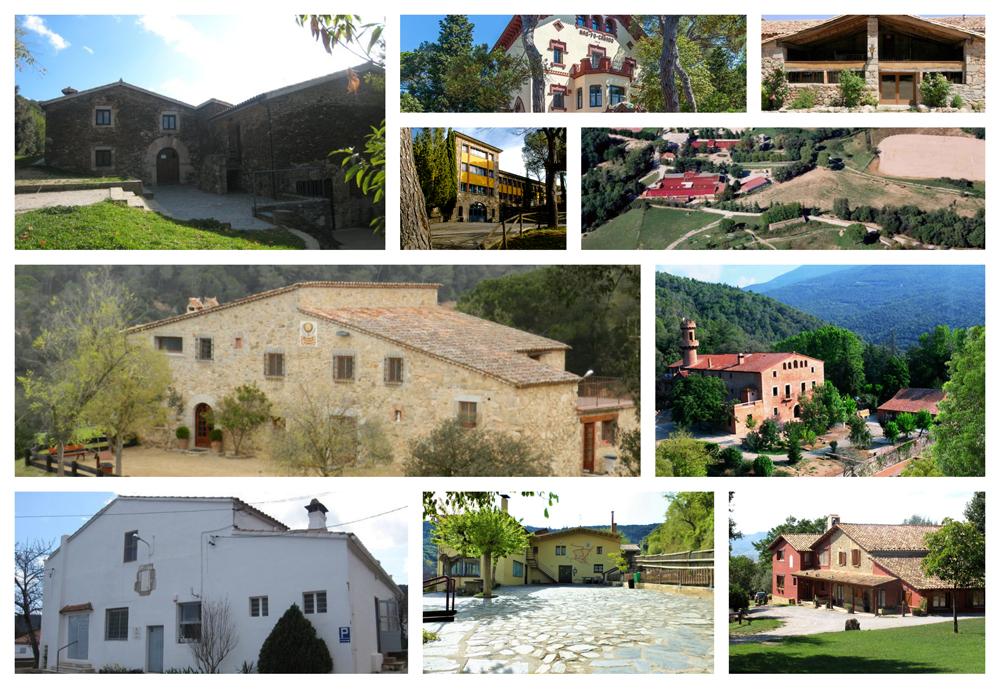 Les 12 cases de colònies del Montseny que no et pots perdre