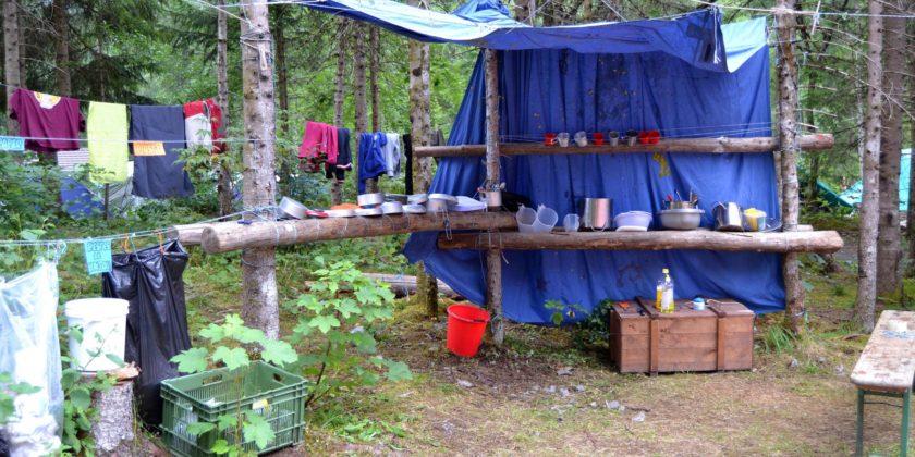 Ja saps com fer uns campaments (més) sostenibles?
